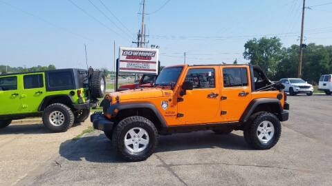 2012 Jeep Wrangler Unlimited for sale at Downing Auto Sales in Des Moines IA
