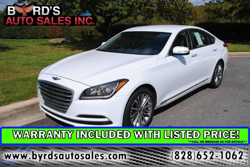 2015 Hyundai Genesis for sale at Byrds Auto Sales in Marion NC