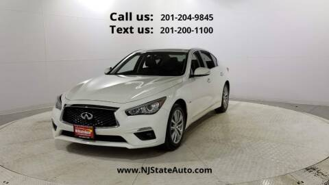 2018 Infiniti Q50 for sale at NJ State Auto Used Cars in Jersey City NJ