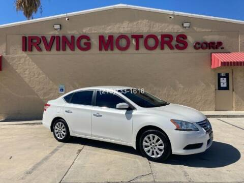 2013 Nissan Sentra for sale at Irving Motors Corp in San Antonio TX
