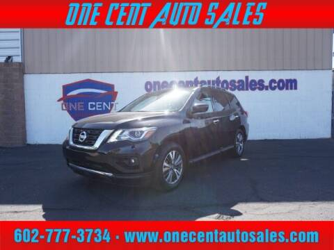 2020 Nissan Pathfinder for sale at One Cent Auto Sales in Glendale AZ