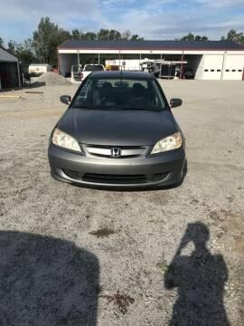 2004 Honda Civic for sale at CAROLINA TOY SHOP LLC in Hartsville SC