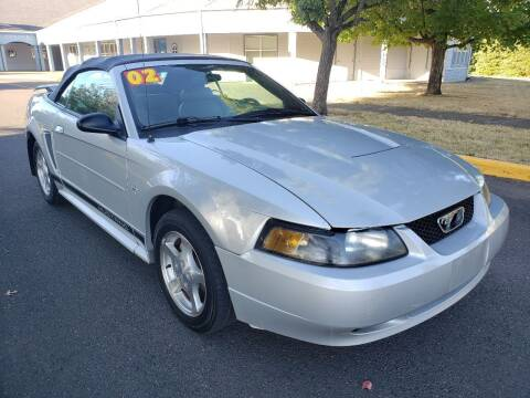 2002 Ford Mustang for sale at Low Price Auto and Truck Sales, LLC in Brooks OR