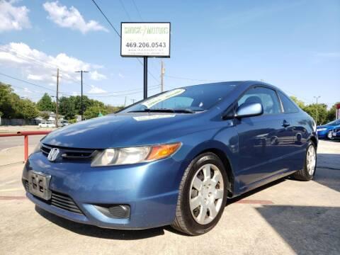 2008 Honda Civic for sale at Shock Motors in Garland TX