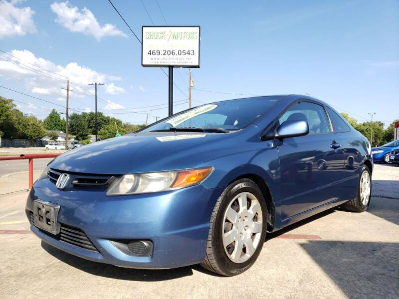 2008 Honda Civic for sale at Shock Motors in Garland TX