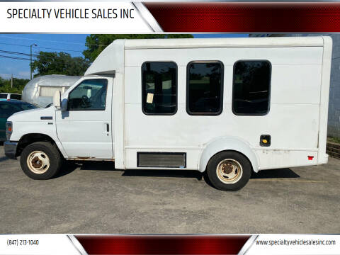 2013 Ford E-Series Chassis for sale at SPECIALTY VEHICLE SALES INC in Skokie IL