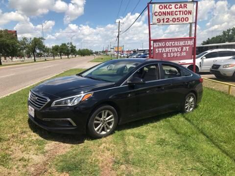 2015 Hyundai Sonata for sale at OKC CAR CONNECTION in Oklahoma City OK