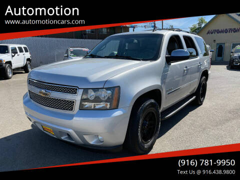 2010 Chevrolet Tahoe for sale at Automotion in Roseville CA