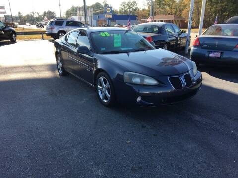 2008 Pontiac Grand Prix for sale at Deckers Auto Sales Inc in Fayetteville NC