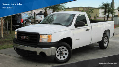 2010 GMC Sierra 1500 for sale at Carpros Auto Sales in Largo FL