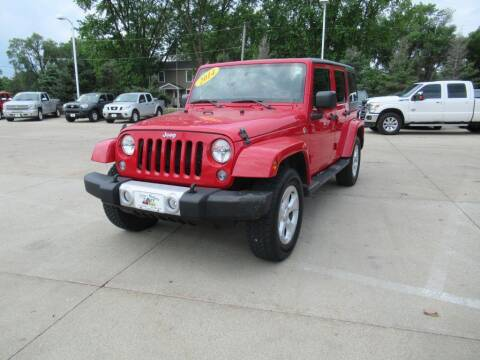 2014 Jeep Wrangler Unlimited for sale at Aztec Motors in Des Moines IA