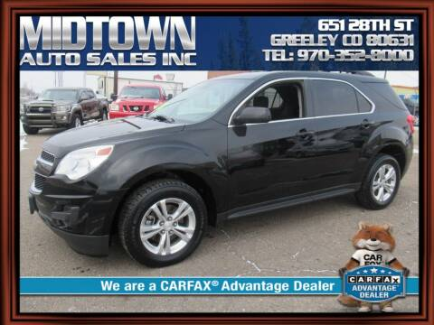 2014 Chevrolet Equinox for sale at MIDTOWN AUTO SALES INC in Greeley CO