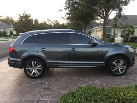 2013 Audi Q7 for sale at Royal Auto Trading in Tampa FL