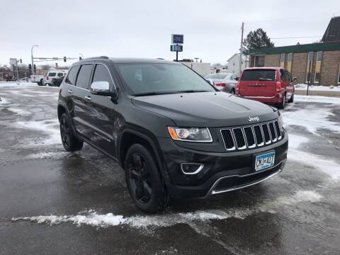 2016 Jeep Grand Cherokee for sale at Carney Auto Sales in Austin MN