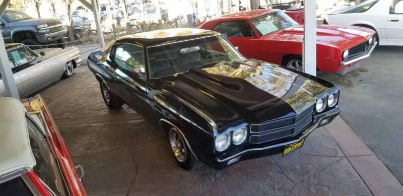 1970 Chevrolet Chevelle for sale in Littlerock, CA