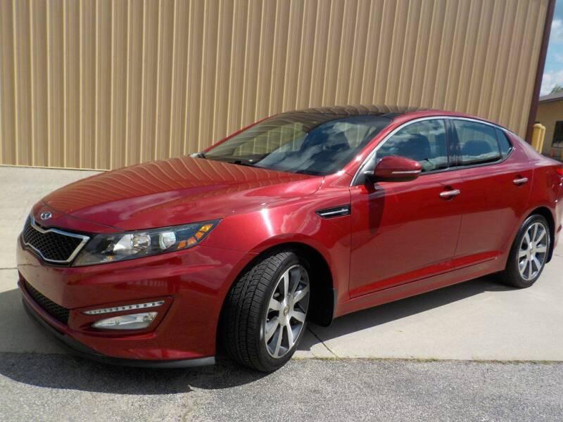 2011 Kia Optima for sale at Automotive Locator- Auto Sales in Groveport OH