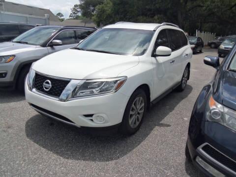 2015 Nissan Pathfinder for sale at ORANGE PARK AUTO in Jacksonville FL