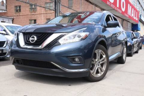 2017 Nissan Murano for sale at HILLSIDE AUTO MALL INC in Jamaica NY