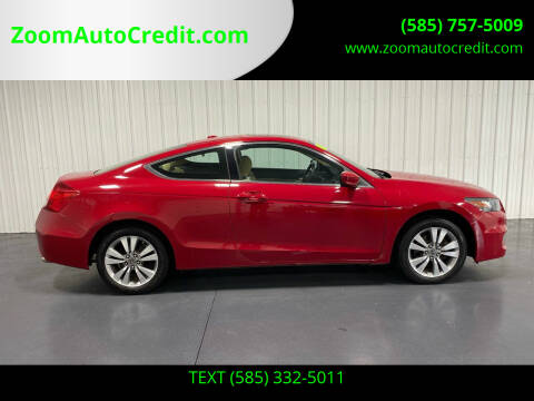 2012 Honda Accord for sale at ZoomAutoCredit.com in Elba NY
