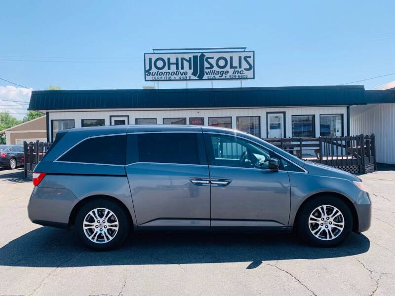 2012 Honda Odyssey for sale at John Solis Automotive Village in Idaho Falls ID