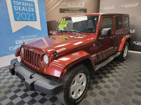 2007 Jeep Wrangler Unlimited for sale at X Drive Auto Sales Inc. in Dearborn Heights MI