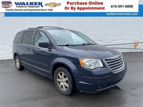 2008 Chrysler Town and Country for sale at WALKER CHEVROLET in Franklin TN