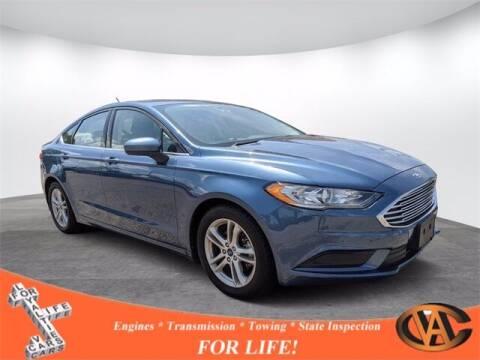 2018 Ford Fusion for sale at VA Cars Inc in Richmond VA