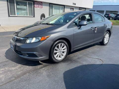 2012 Honda Civic for sale at Shermans Auto Sales in Webster NY