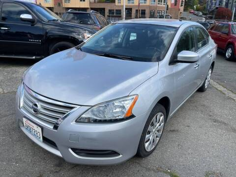 2015 Nissan Sentra for sale at SNS AUTO SALES in Seattle WA