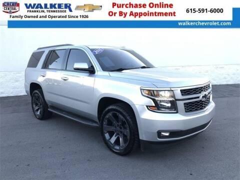 2015 Chevrolet Tahoe for sale at WALKER CHEVROLET in Franklin TN
