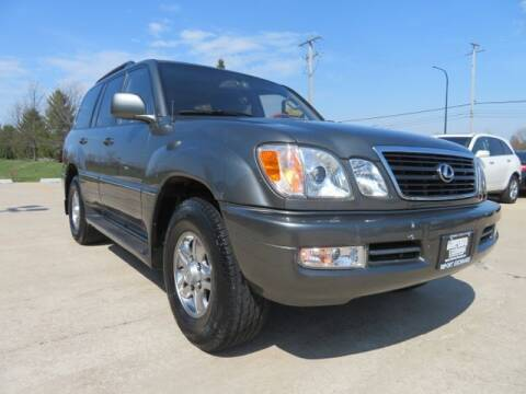 2002 Lexus LX 470 for sale at Import Exchange in Mokena IL