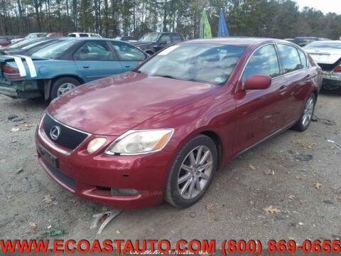 2006 Lexus GS 300 for sale at East Coast Auto Source Inc. in Bedford VA