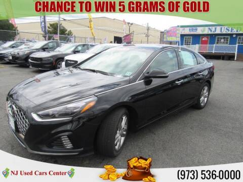 2018 Hyundai Sonata for sale at New Jersey Used Cars Center in Irvington NJ