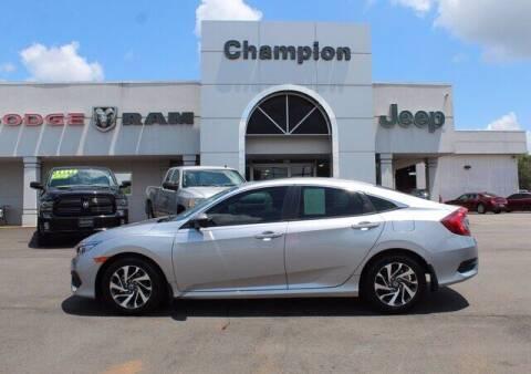 2016 Honda Civic for sale at Champion Chevrolet in Athens AL