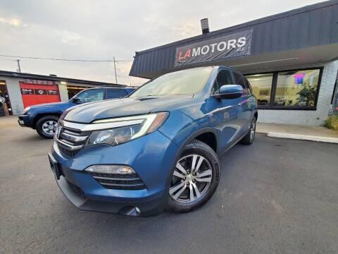 2017 Honda Pilot for sale at LA Motors LLC in Denver CO