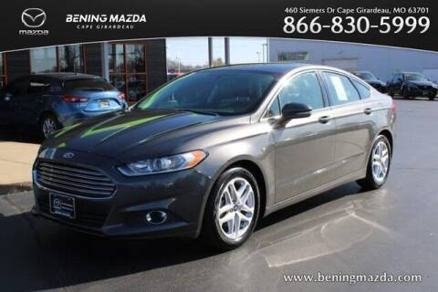 2016 Ford Fusion for sale at Bening Mazda in Cape Girardeau MO