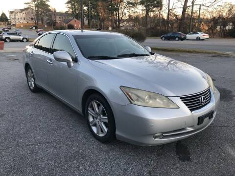 2007 Lexus ES 350 for sale at CAR STOP INC in Duluth GA