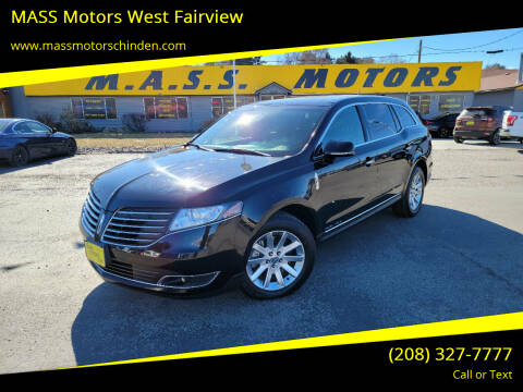 2017 Lincoln MKT Town Car for sale at MASS Motors West Fairview in Boise ID