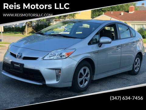 2013 Toyota Prius for sale at Reis Motors LLC in Lawrence NY