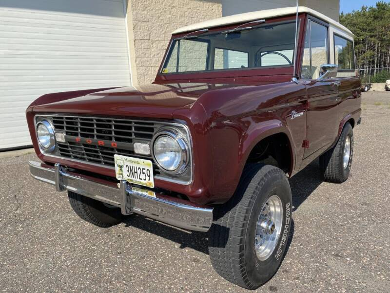 1966 Ford Bronco for sale at Route 65 Sales & Classics LLC - Classic Cars in Ham Lake MN
