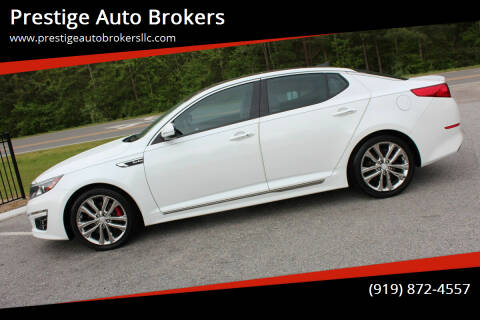 2014 Kia Optima for sale at Prestige Auto Brokers in Raleigh NC