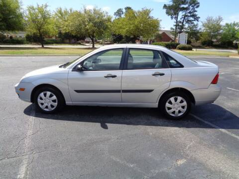2005 Ford Focus for sale at BALKCUM AUTO INC in Wilmington NC