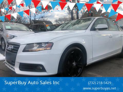 2011 Audi A4 for sale at SuperBuy Auto Sales Inc in Avenel NJ