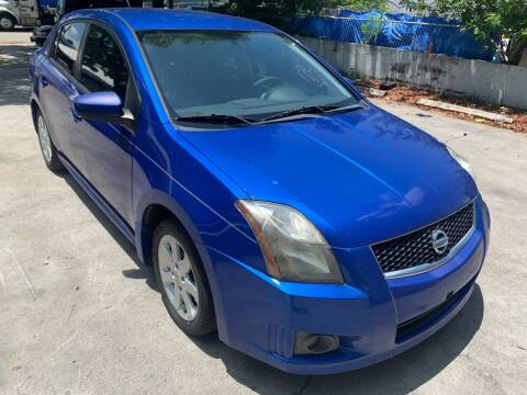 2012 Nissan Sentra for sale at Eden Cars Inc in Hollywood FL