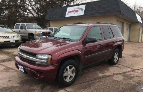 2005 Chevrolet TrailBlazer for sale at Gordon Auto Sales LLC in Sioux City IA