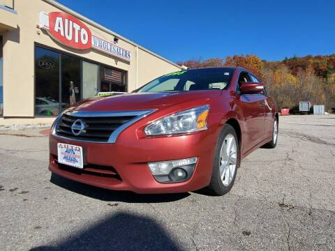 2014 Nissan Altima for sale at Auto Wholesalers Of Hooksett in Hooksett NH