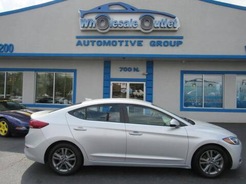 2018 Hyundai Elantra for sale at The Wholesale Outlet in Blackwood NJ