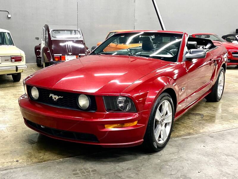2007 Ford Mustang for sale at EA Motorgroup in Austin TX