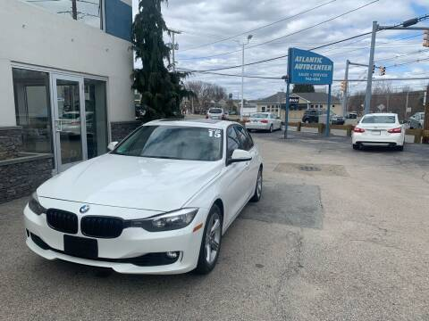 2015 BMW 3 Series for sale at Atlantic AutoCenter in Cranston RI