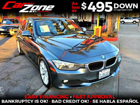 2015 BMW 3 Series for sale at Carzone Automall in South Gate CA